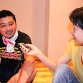 早速、徳さんにインタビュー開始です。