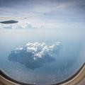 Auf dem Flug Hongkong-Singapur