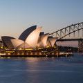 Sunset Mrs Macquaries Chair, Sydney