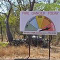 Gibb River Road - Total Fire Ban
