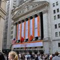 Wall Street - Einweihung Alibaba