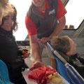 Shark-Cage-Diving-Tour - Zvieri zum Abschluss