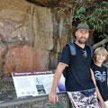 Kakadu National Park - Aboriginal-Malereien beim Nourlangie Rock