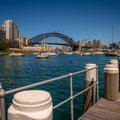Lavender Bay - Aussicht zur Harbour Bridge