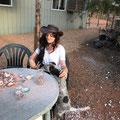 bei Heidi im Garten