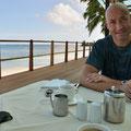 Hotel-Restaurant - Frühstück am Meer