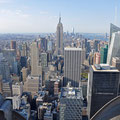 Auf dem Rockefeller Center - Top of the Rocks