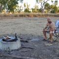 Windjana Gorge - auf dem Bushcamping