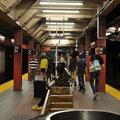 Mit der Subway zum Macys