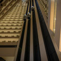 Pan Pacific Hotel von innen - mit Ihnnenliften