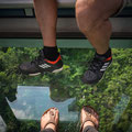 Ngong Ping Cable Car zum Big Buddha - Glasbodenkabine