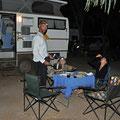 Eighty Mile Beach - Nachtessen auf dem Camping
