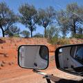 Unterwegs Richtung Uluru