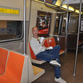 In der Subway zur Ecke Fifth/Broadway