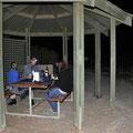 Hangover Bay Picknick-Platz - ob's noch mehr Redback's hat?