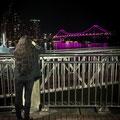 Eagle Street Pier - Sicht auf Story Bridge