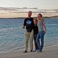 Coral Bay - die Sonne geht unter!