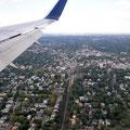 Landeanflug Flughafen JFK