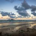 MissiMission Beach gegen Abendon Beach gegen Abend