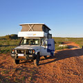 Überfüllte Campingplätze im Juli: Unser Übernachtungsplatz ausgangs Coral Bay