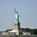 Freiheitsstatue von der Staten Island Ferry aus