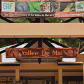 Vallée de Mai - Eingang zum Nationalpark