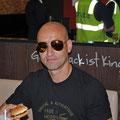 Vor dem Flug im Burger King, Flughafen Zürich Kloten