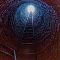 in der Mine - Luftloch