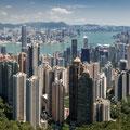 Victoria Peak - Aussicht über Hong Kong