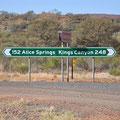 ... wir gehen Richtung Kings Canyon