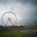 Hongkong Ovservation Wheel - Gewitter