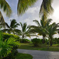 Ausblick von unserem Beach-Chalet