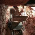 in der Mine