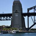 Milsons Point von der Fähre (Circular Quay-Darling Harbour) aus