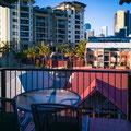 Hotel Central Brunswick, Brisbane - am frühen Morgen