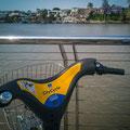Mit dem CityMit dem City Bike unterwegs - Uferpromenade Teneriffe Bike unterwegs