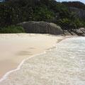 Big Sister Island - der Strand auf der gegenüberliegenden Seite