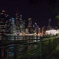 Brisbane Skyline - Aussicht vom Kangaroo Point