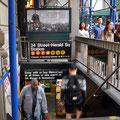 Subway-Station beim Macys