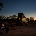 Duck Creek - unser Camp