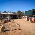 Grawin - Tankstelle und Lebensmittelladen