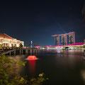 Aussicht auf die Marina Bay