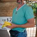 Bananenplantage kurz vor Mission Beach