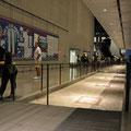 9/11 Museum - Originalfundament unter den Wasserfall-Pools