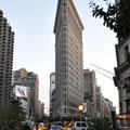 Ecke Fifth/Broadway: Flatiron Building