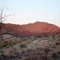 Sunset über das Tal vom Ridgetop Bushcamp aus gesehen