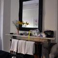 Unser Hotel 'The Russell on the Rocks' im Viertel 'Teh Rocks' - unser Zimmer