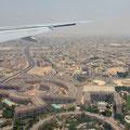Landeanflug Dubai