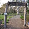 im Park hinter dem Barossa Valley Tourist Park - Bushchapel
