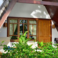 Unser Beach-Chalet in der 'La Digue Island Lodge'